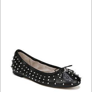 Sam Edelman size 8 ballet spiked shoes